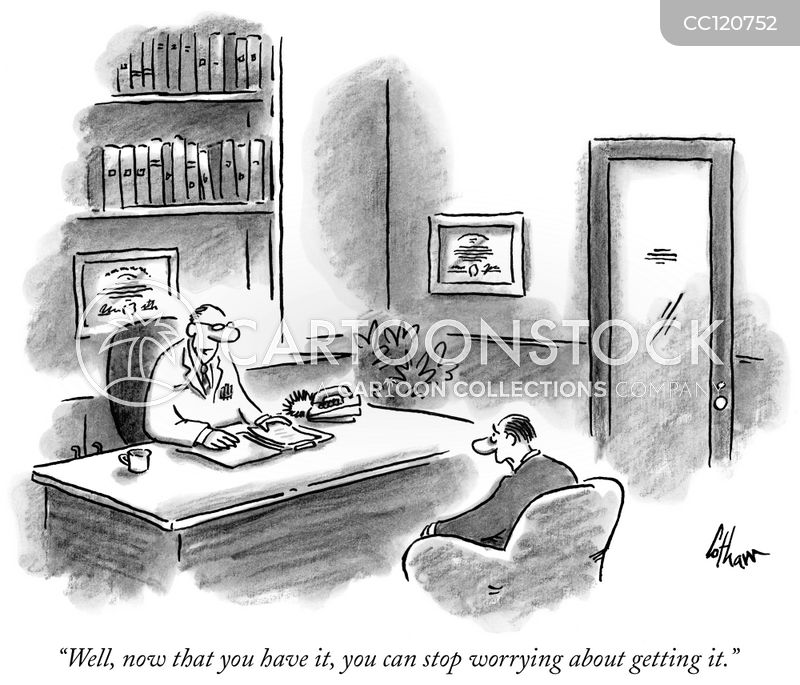 worried cartoon