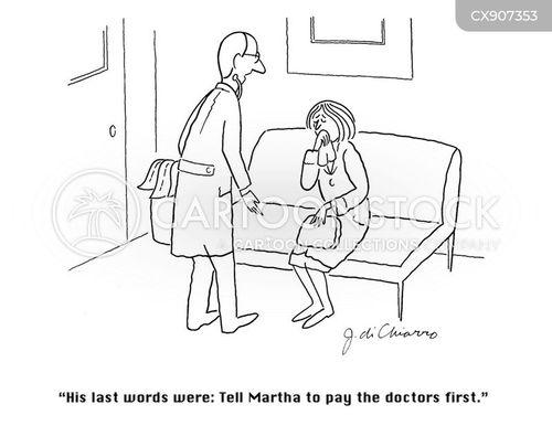 final words cartoon