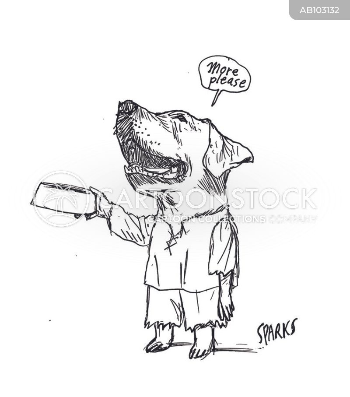dog breeds cartoon