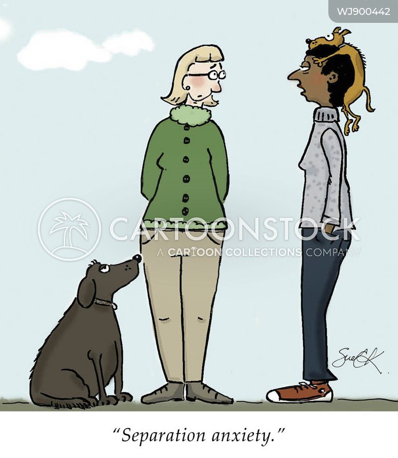 dog behavior cartoon