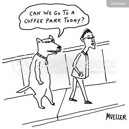 coffee lover cartoon
