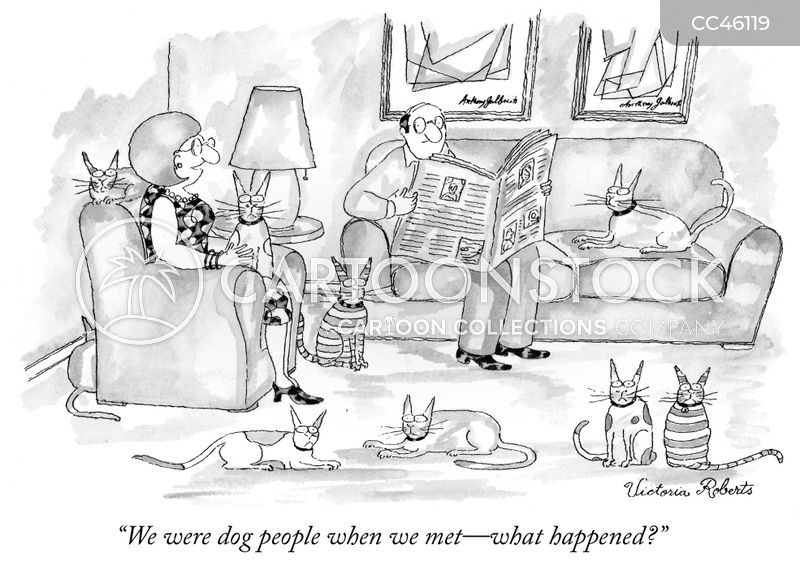 family pet cartoon