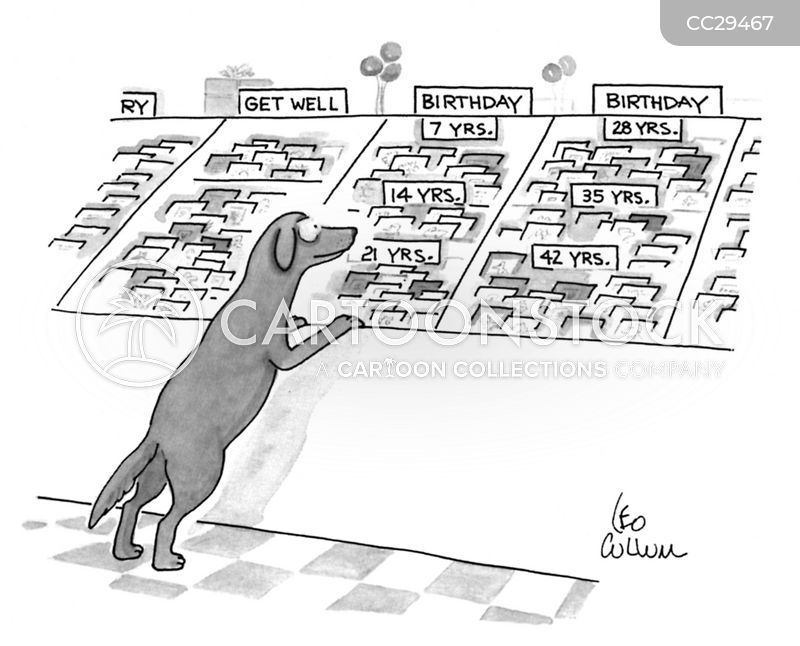 dog people cartoon