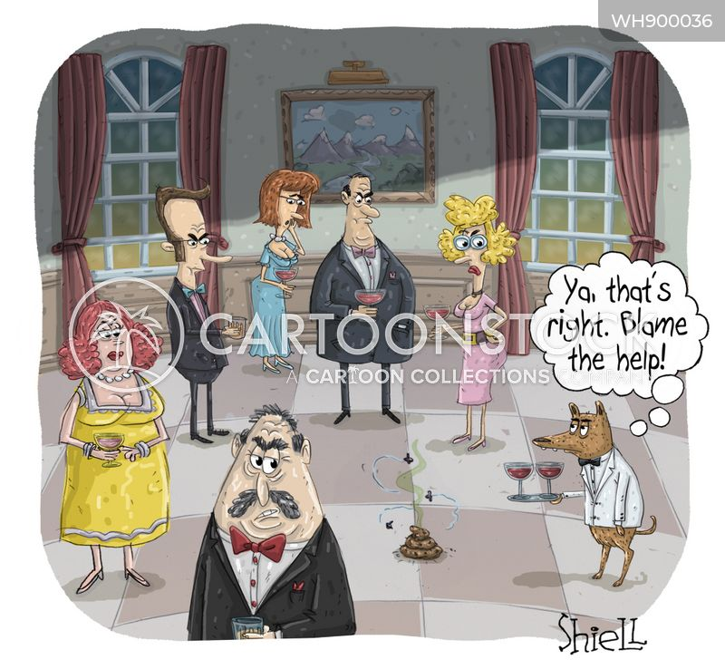caterers cartoon