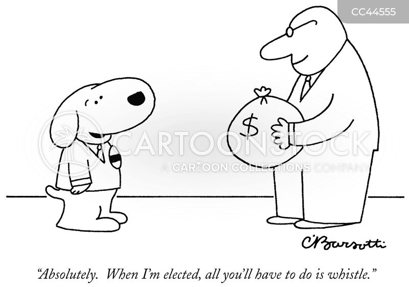 bribery cartoon