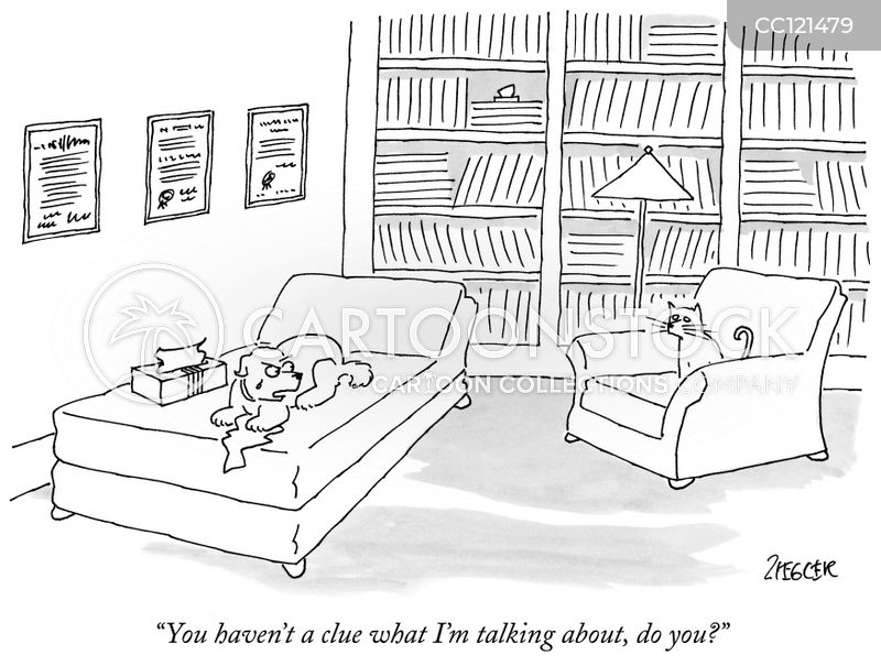Therapy cartoon