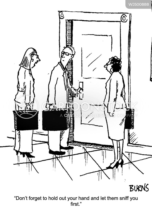 businesmen cartoon