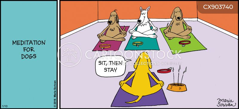 inner peace cartoon