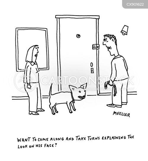doggy person cartoon