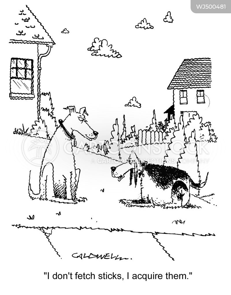 dog lovers cartoon