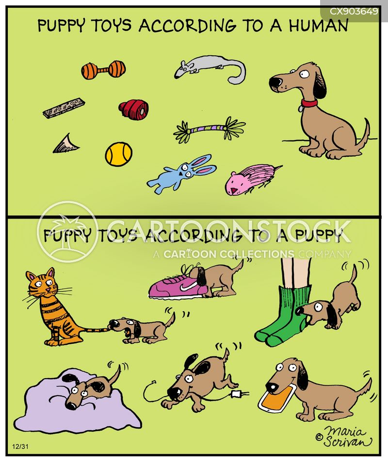 dog toy cartoon
