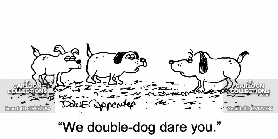 Double Dares cartoon