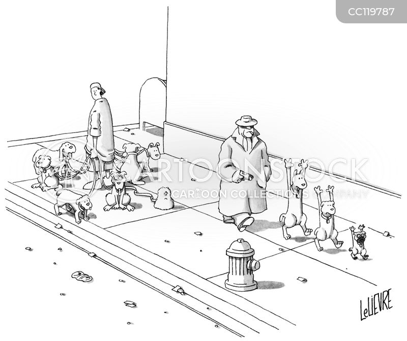 well behaved dog cartoon