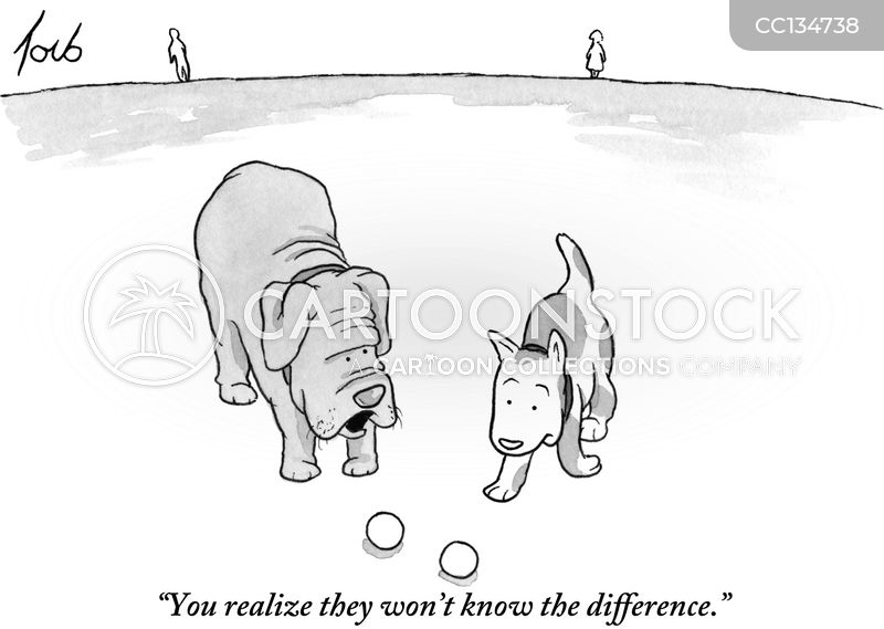 knowing the difference cartoon