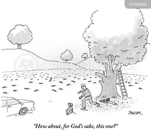 dog walks cartoon