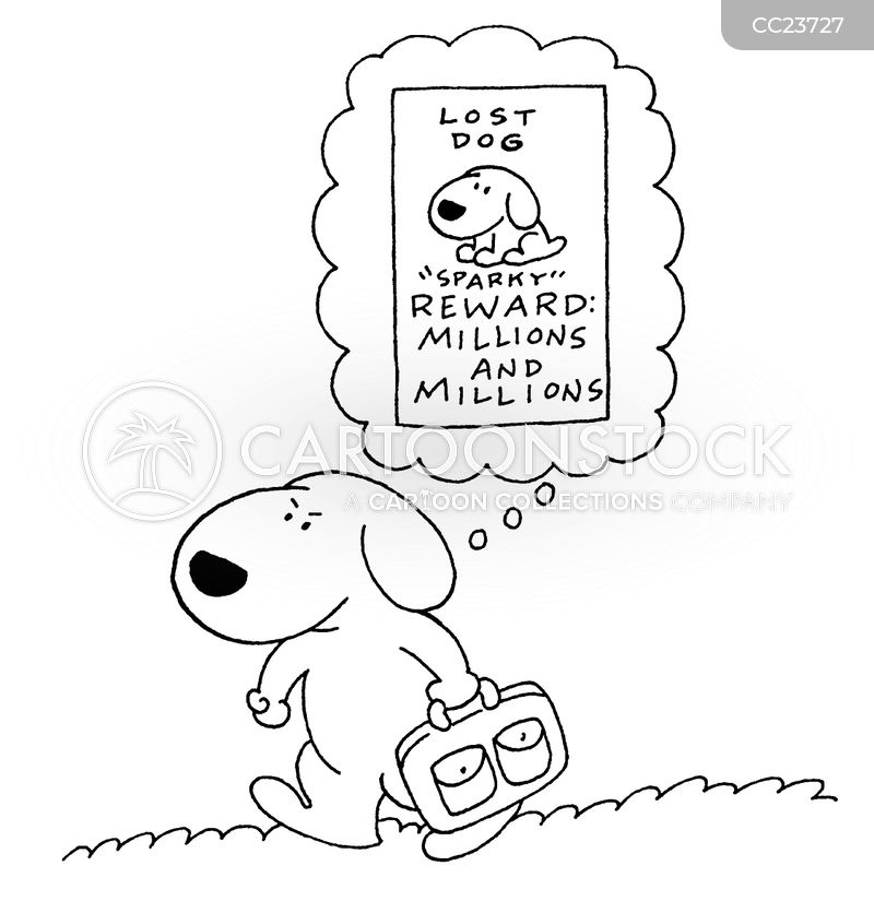 dog lover cartoon