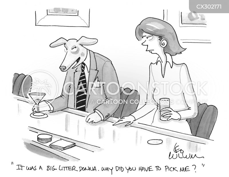 dog litter cartoon