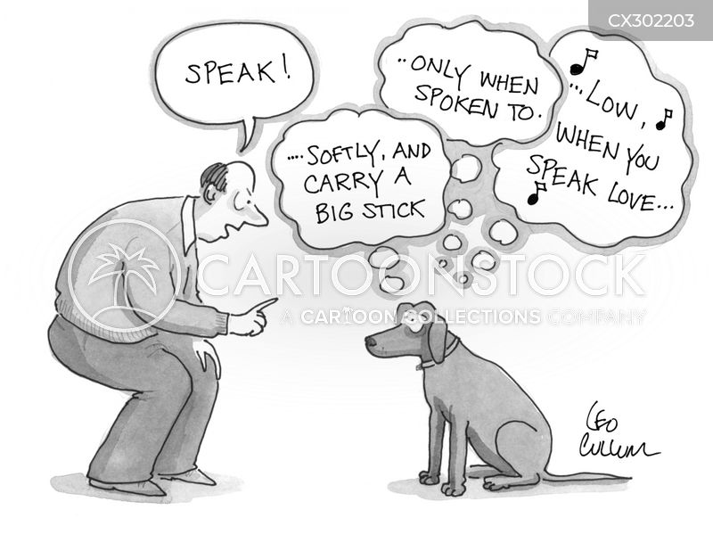 commands cartoon