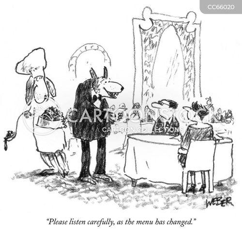 gross food cartoon