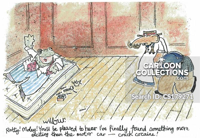 Wind In The Willows cartoon