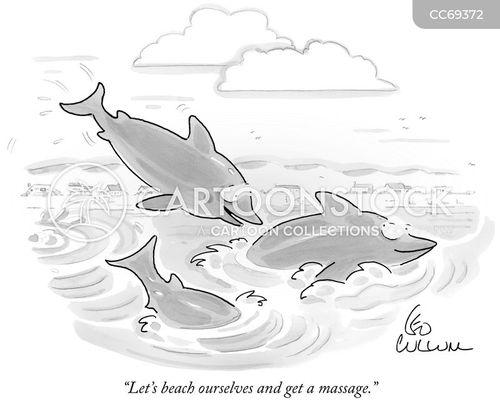 massages cartoon