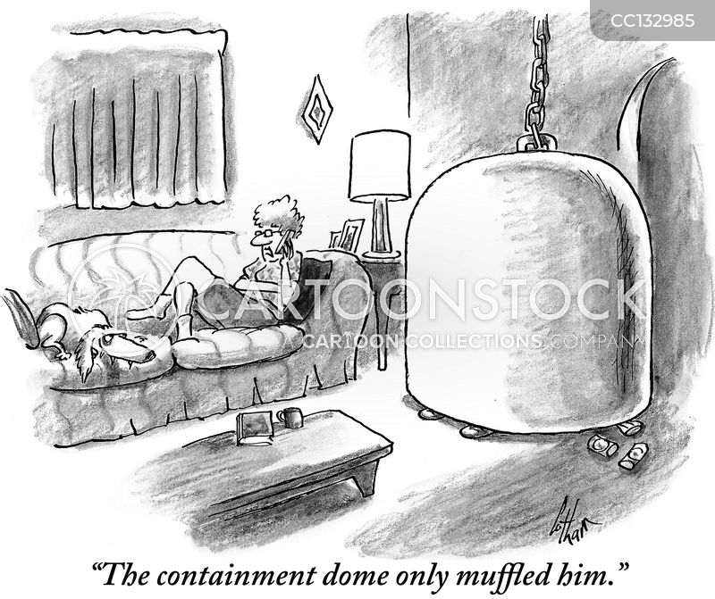 container cartoon