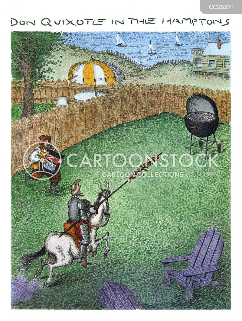 jousts cartoon