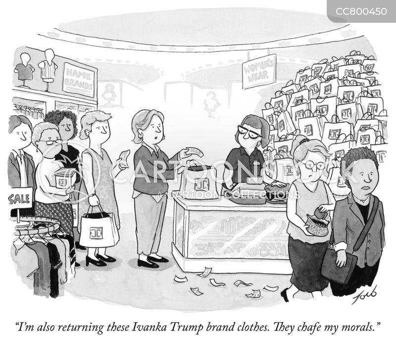 ivanka trump cartoon