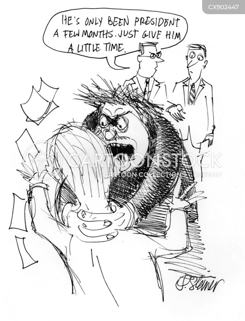 violent temper cartoon