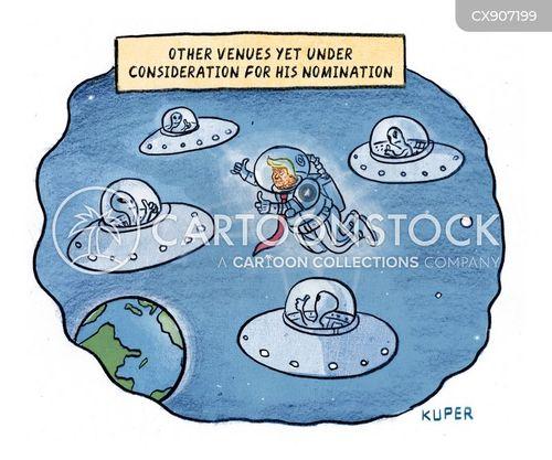 venues cartoon