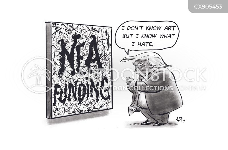 nea cuts cartoon