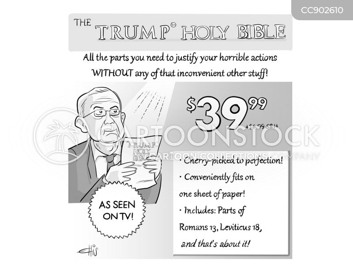 justification cartoon
