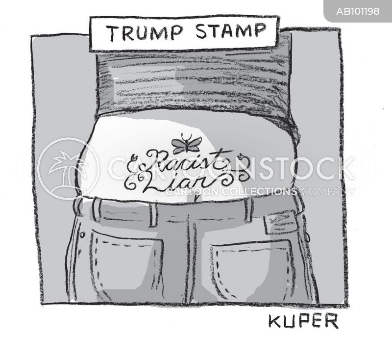 trump voter cartoon