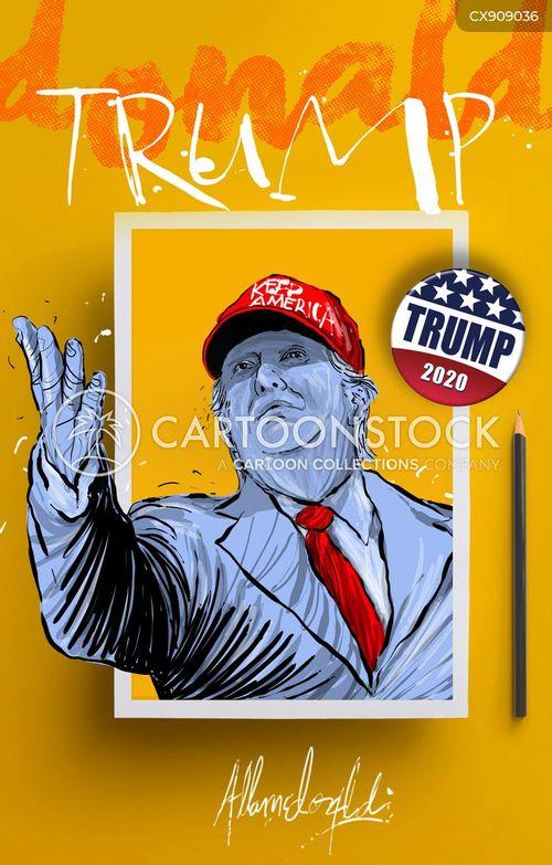 electing cartoon