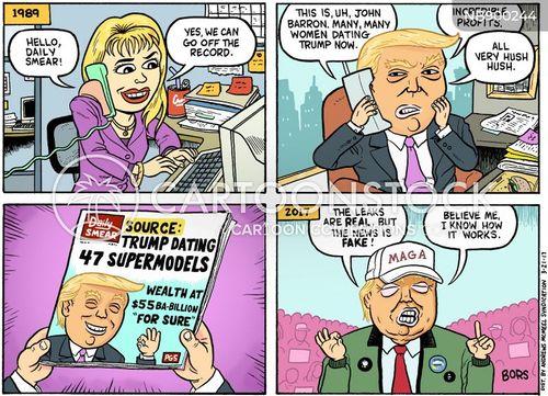 modern media cartoon