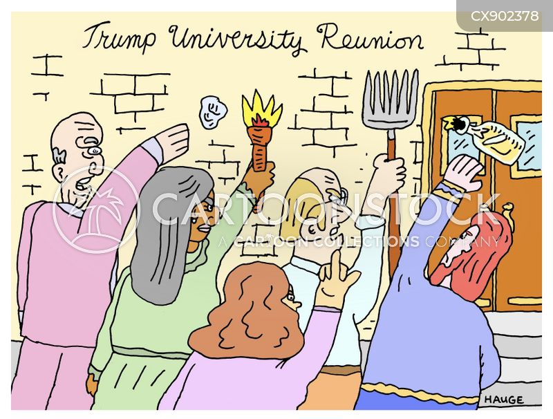 riots cartoon
