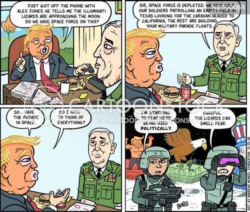 modern politics cartoon