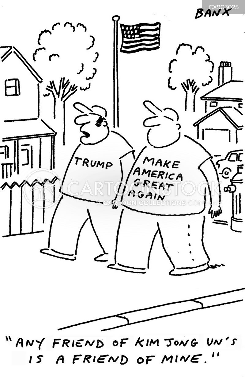 election slogan cartoon
