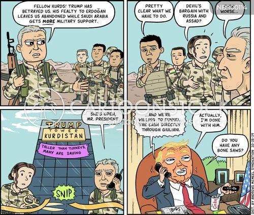 president trump cartoon