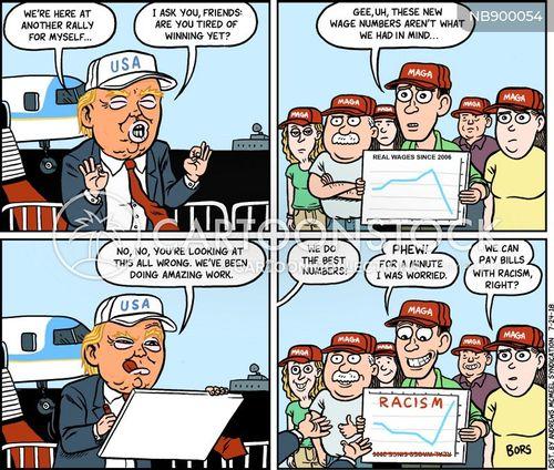 2020 presidential race cartoon