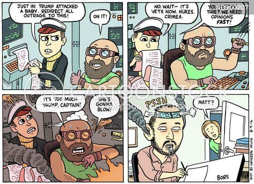 outrage cartoon