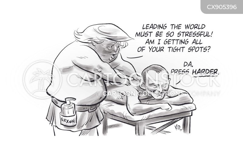 russian election interference cartoon