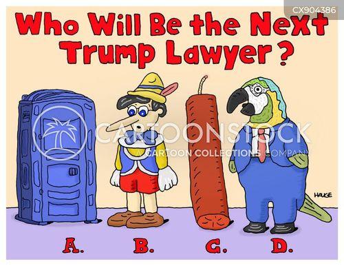 trumps lawyer cartoon