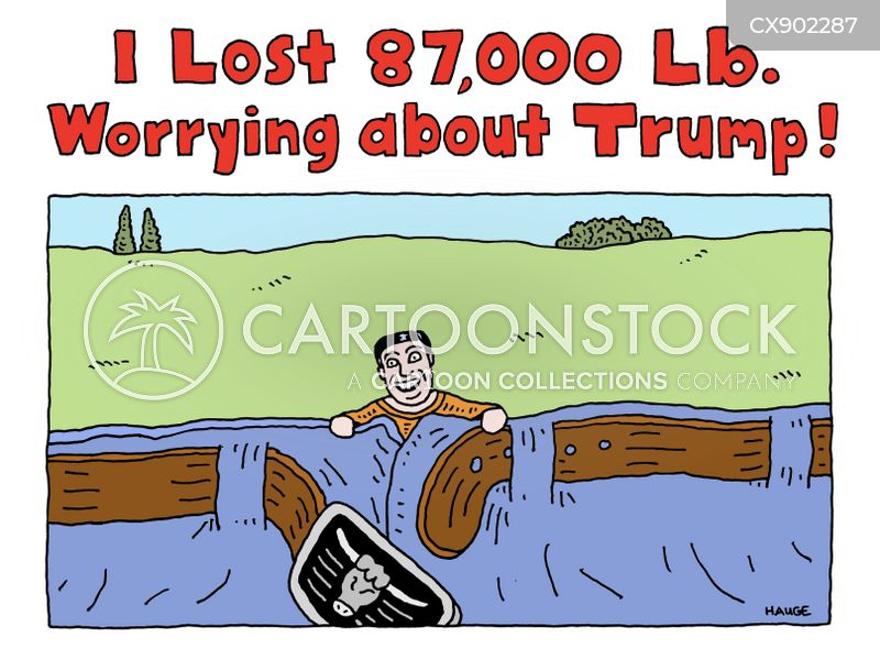 troubled times cartoon