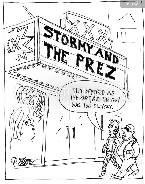 sleaze cartoon
