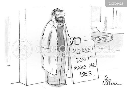 panhandle cartoon