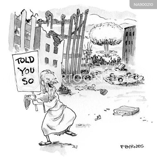 nuclear bomb cartoon