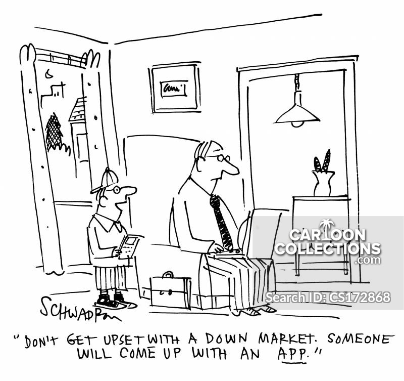 Down Markets cartoon