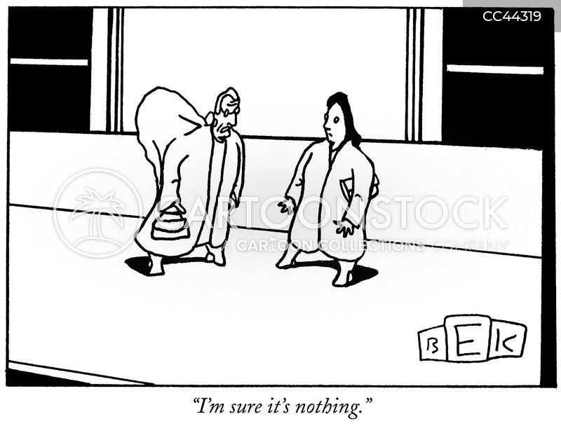 medical issues cartoon