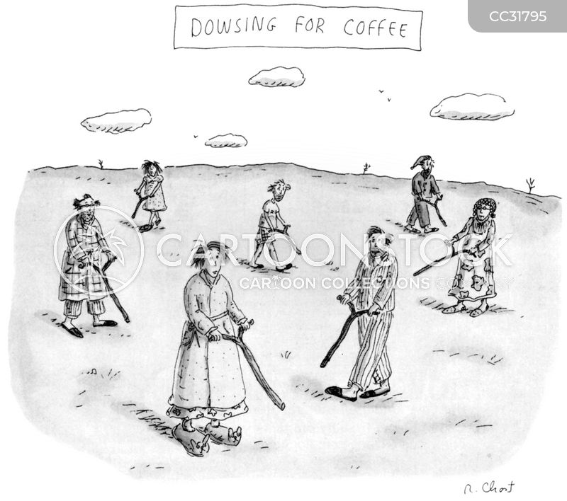 caffeinated cartoon